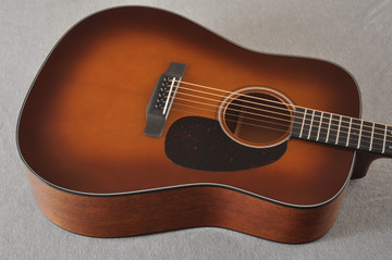 Martin Custom Dreadnought 18 GE Adirondack Waverly #2276234 - Top Angle