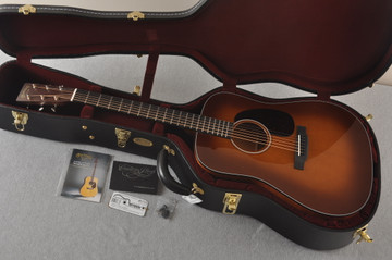 Martin Custom Dreadnought 18 GE Adirondack Waverly #2276234 - Case