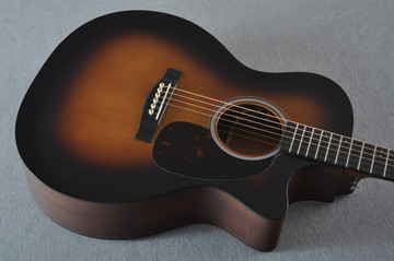 Martin Custom Shop GPCPA4 Adirondack Sunburst Fishman F1 Analog #2193583 - Top Angle