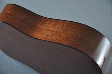 Martin Custom 18 Style Dreadnought Adi Sunburst Guitar #2193568 - Side