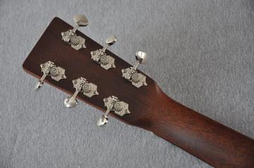Martin Custom 18 Style Dreadnought Adi Sunburst Guitar #2193568 - Back Headstock