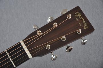 Martin Custom 18 Style Dreadnought Adi Sunburst Guitar #2193568 - Headstock