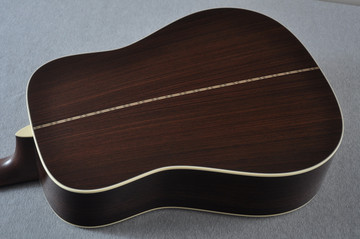 Martin Custom Shop D-28 Adirondack Acoustic Guitar #2202946 - Back Angle