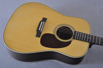 Martin Custom Shop D-28 Adirondack Acoustic Guitar #2202946 - Top Angle