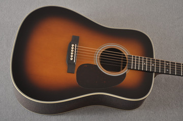 Martin Custom Dreadnought Style-28 Adirondack Vintage Sunburst #2260964 - Top
