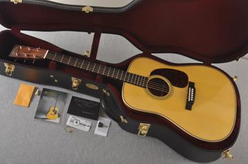 Martin Custom HD Style 28 Adi GE Wild Indian Rosewood #2305144 - Case