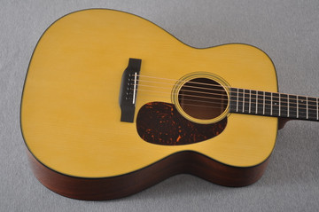 Martin Custom 0000 Style 18 Adirondack Sinker Mahogany #2264266 - Top