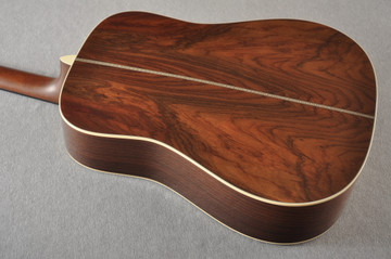 Martin Custom HD Style 28 Adi Wild Indian Rosewood Burst #2305131 - Back Angle