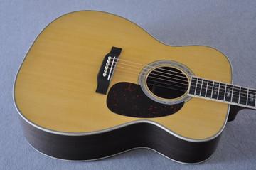 Martin J-40 (2018) Standard Acoustic Guitar #2227279 - Top Angle