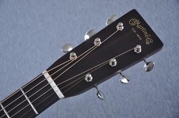 Martin Custom Shop D-28 Dark Indian Rosewood Acoustic Guitar #2210058 - Headstock