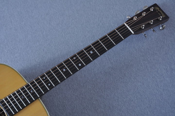 Martin Custom Shop D-28 Dark Indian Rosewood Acoustic Guitar #2210058 - Neck