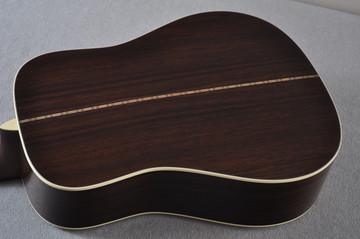 Martin Custom Shop D-28 Dark Indian Rosewood Acoustic Guitar #2210058 - Back