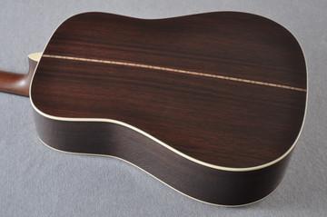 Martin Custom Shop D-28 Dark Indian Rosewood Acoustic Guitar #2210058 - Back Angle