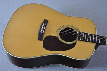 Martin Custom Shop D-28 Dark Indian Rosewood Acoustic Guitar #2210058 - Top Angle
