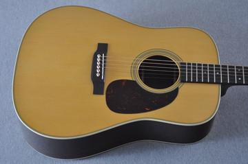 Martin Custom Shop D-28 Dark Indian Rosewood Acoustic Guitar #2210058 - Top