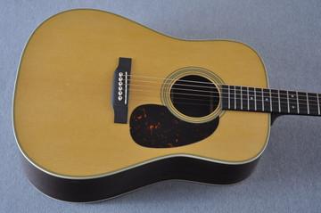 Martin Custom Shop D-28 Dark Indian Rosewood Acoustic Guitar #2210060 - Top