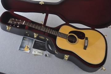 Martin Custom Shop D-28 Dark Indian Rosewood Acoustic Guitar #2210060 - Case