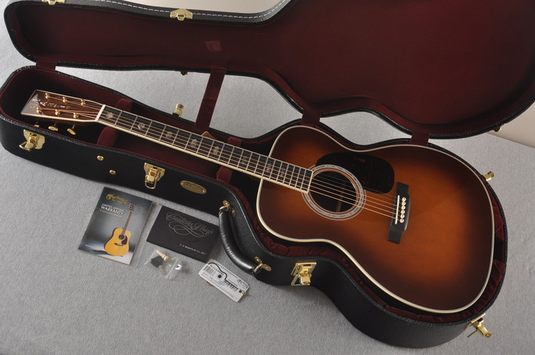 Martin Custom Jumbo J Style 40 Adirondack Ambertone #2260985 - Case