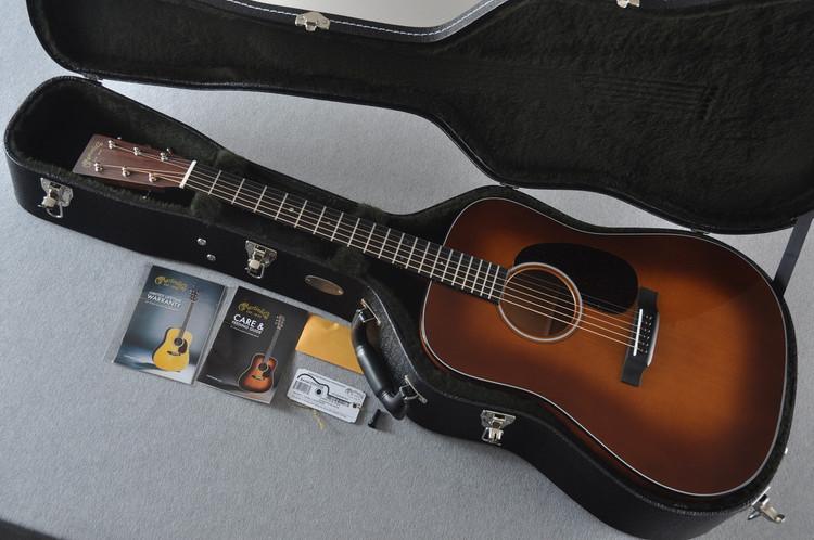 Martin D-18 Standard Ambertone Acoustic Guitar #2243516 - Case