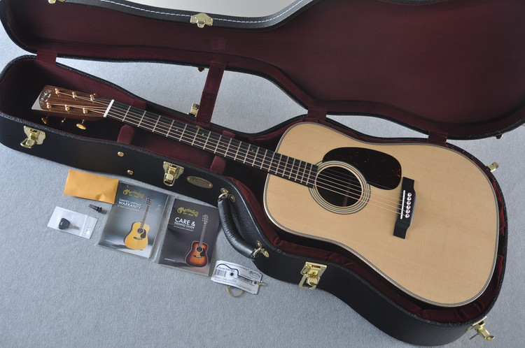 Martin D-28 Modern Deluxe Acoustic Guitar #2247802 - Case