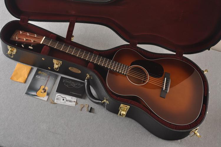 Martin Custom 000 Style 18 GE Adirondack Ambertone Waverly #2276257 - Case