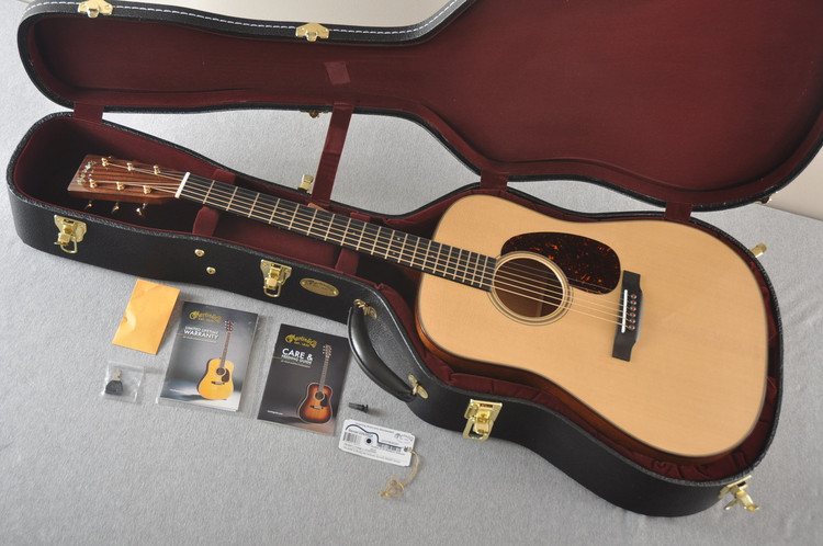 Martin D-18 Modern Deluxe Acoustic Guitar #2263024 - Case