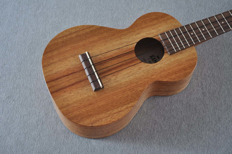 Kamaka Concert Ukulele HF-2 - Solid Koa - New 2018 - Made in USA - 180664