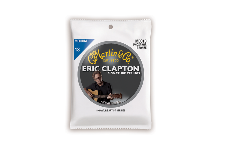 Martin Guitar Strings MEC13 - Eric Clapton - Medium Gauge