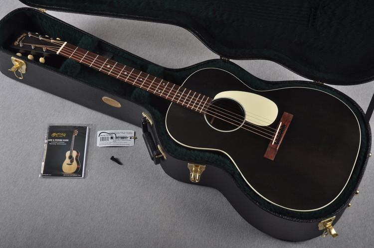 Martin 00L-17 Black Smoke Acoustic Guitar #1978937 - Case