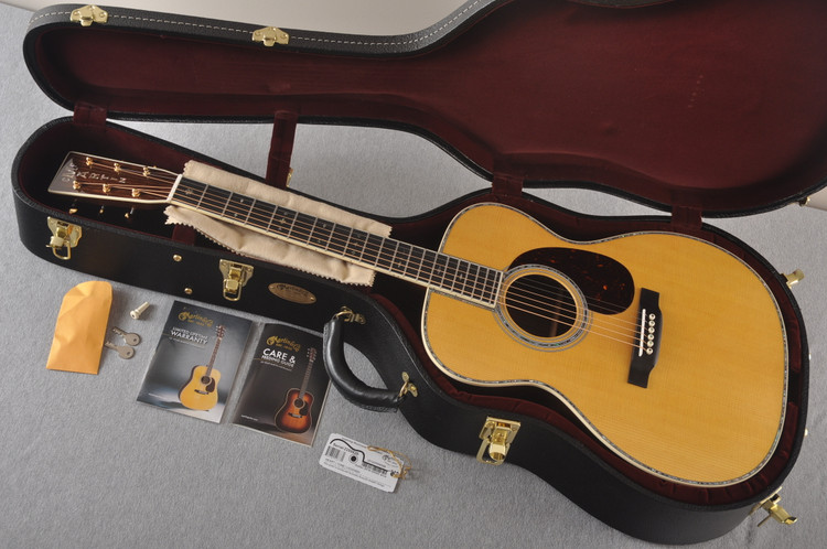 Martin 000-42 Standard Acoustic Guitar #2255826 - Case