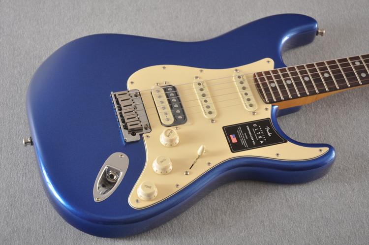 Fender American Ultra Stratocaster HSS Guitar - Cobra Blue