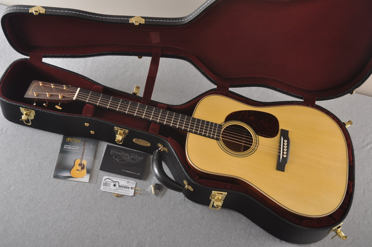 Martin Custom NAMM Figured Sinker Mahogany Dread 18 #2293406 - Case