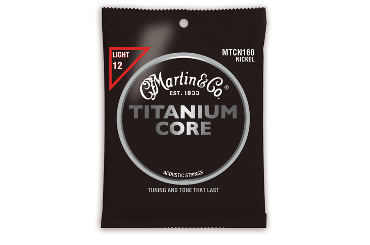 Martin Guitar Strings MTCN160 - Titanium Core - Light Gauge