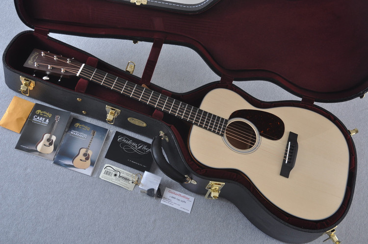 Martin Custom Shop 00-18 Adirondack Spruce Top Acoustic Guitar #2146974 - Case