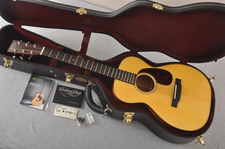Used Martin Custom Style 18 Size 0 Adirondack Mahogany #2146967 - Case
