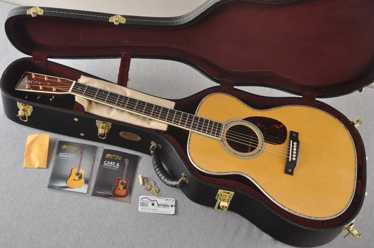 Martin OM-42 Standard Acoustic Guitar #2266329 - Case