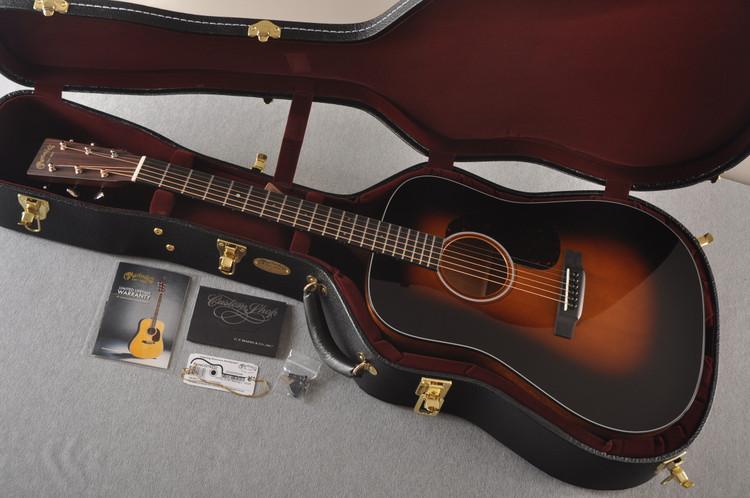 Martin Custom 18 Style Dread Adirondack Sunburst Guitar #2276232 - Case