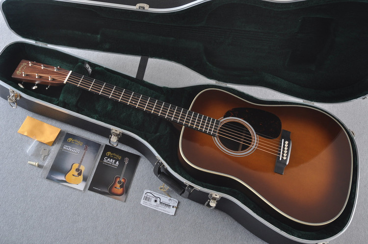 Martin HD-28 Ambertone Acoustic Guitar #2251550 - Case