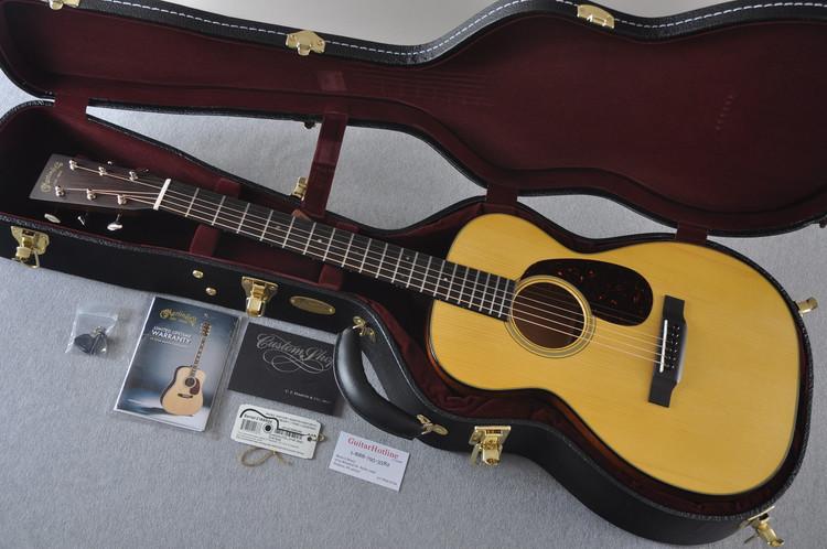 Martin Custom Shop 0-18 Adirondack Spruce Acoustic Guitar #2166924 - Case