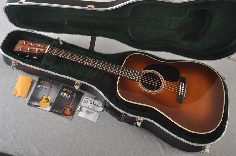 Martin D-28 Ambertone Standard Dreadnaught Guitar #2255668 - Case