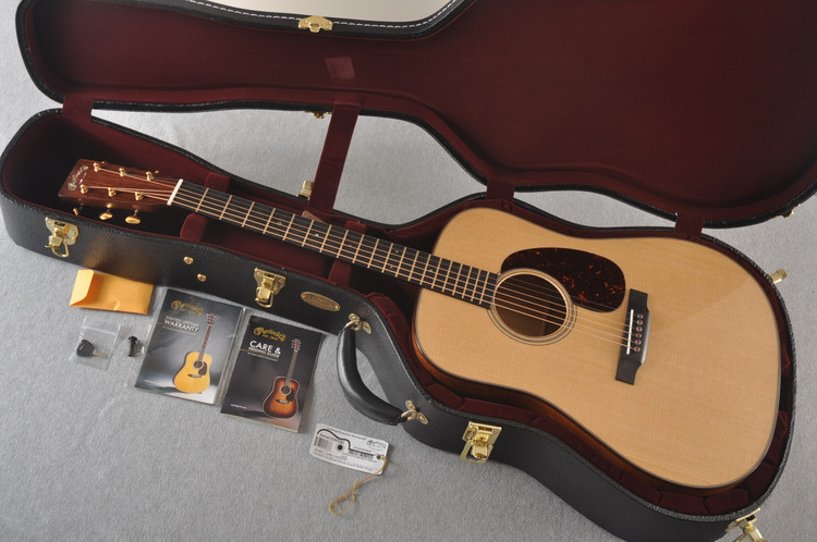 Martin D-18 Modern Deluxe Acoustic Guitar #2255383 - Case
