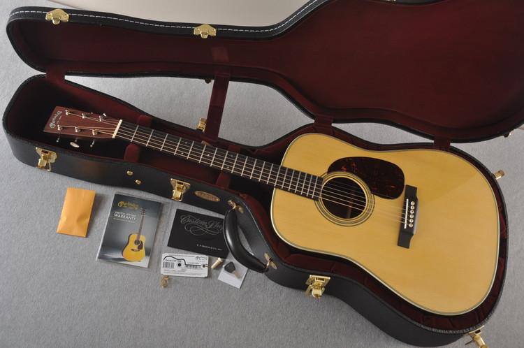 Martin Custom 28 NAMM Adirondack Guatemalan Dread GE #2291268 - Case