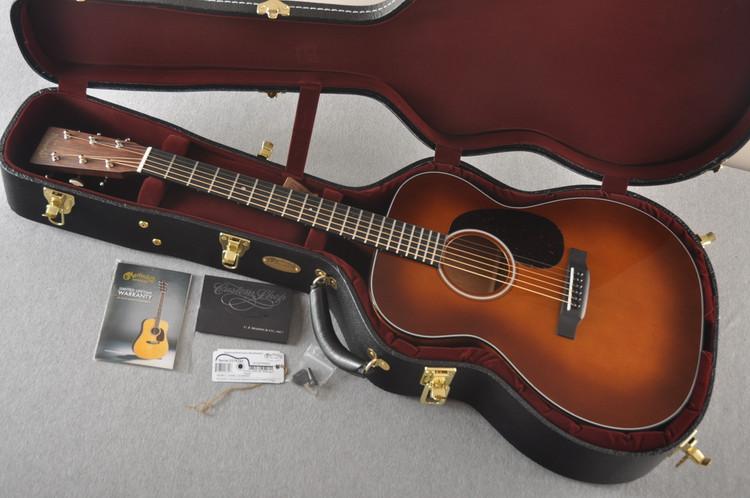 Martin 000 Custom Style 18 Adirondack Ambertone Guitar #2276254 - Case