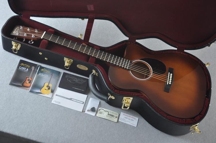 Martin Custom Shop OMCPA4 Adirondack Ambertone #2193581 - Case