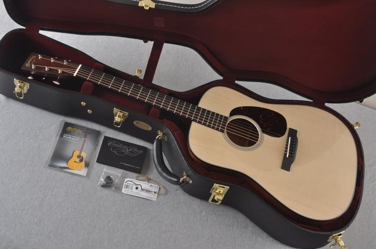 Martin 18 Style Custom Dreadnought Guitar Adirondack #2276231 - Case