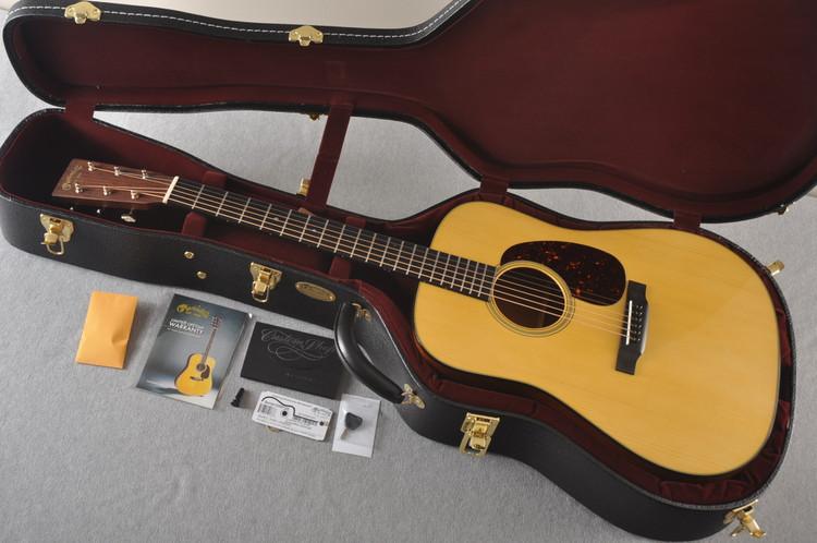 Martin Custom Dread Style 18 Adirondack Sinker Mahogany #2305133 - Case
