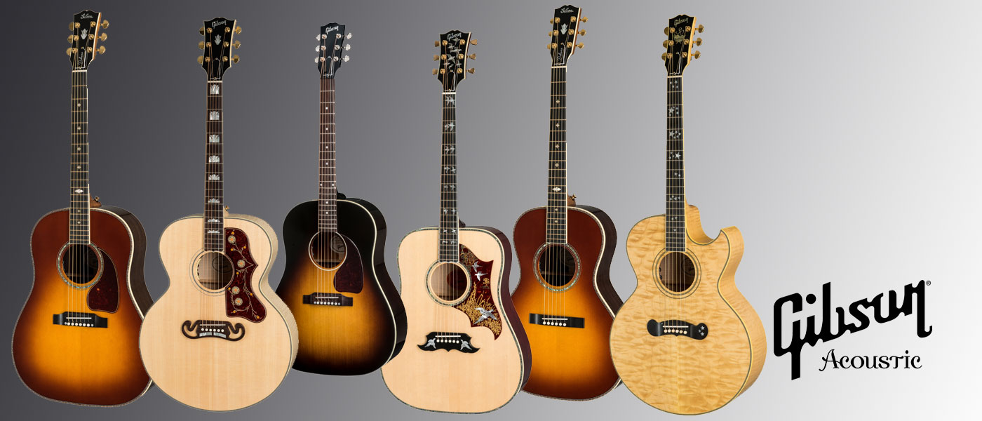 Gibson Acoustic Guitars - Call Us About Your Trade-In