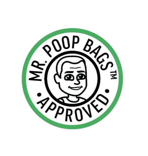 Mr. Poop Bags Approved! logo