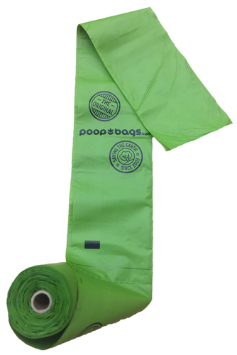 The Original Poop Bags ASTM D6400 certified rolls are made from plant matter