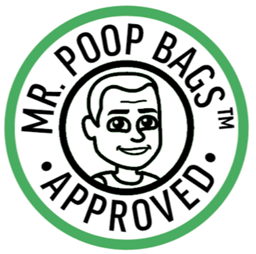Mr. Poopbags Approved logo